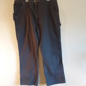 Dickies reinforced knees, cell pocket ,work pants